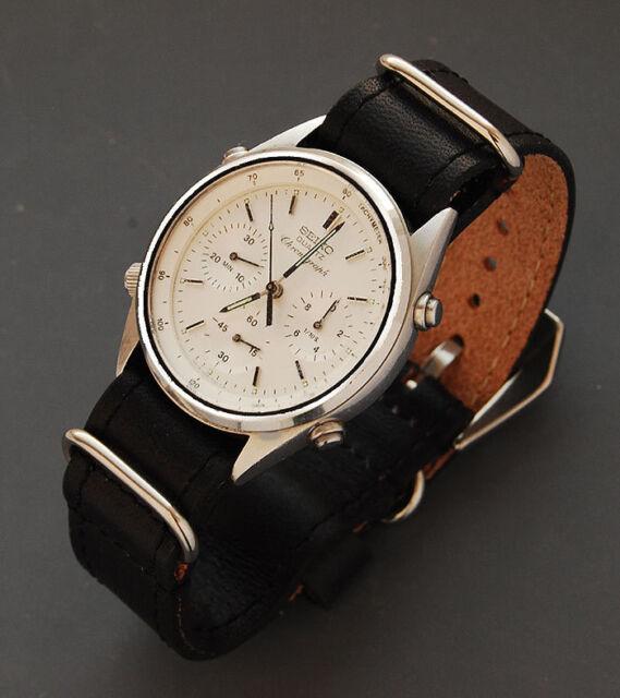 Diloy Vintage Uhrenarmband  18mm 20 mm 22mm 24mm Flieger Durchzugsband
