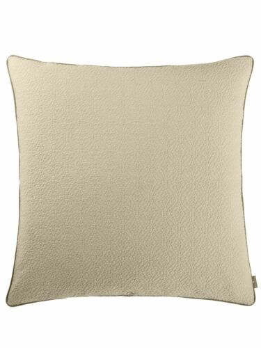 PEREIRA DA CUNHA Kissenhülle mit kontrastfarbenen Keder beige 80x80 cm