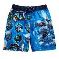 Skylanders Swap Force Uv-50 Bathing Suit Swim Trunks Boys Size 4, 5 Or 6 $25