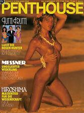 Penthouse 9,09/1990 September,Kirsten Steward,Brigitte,Hugo-Egon Balder,Messner