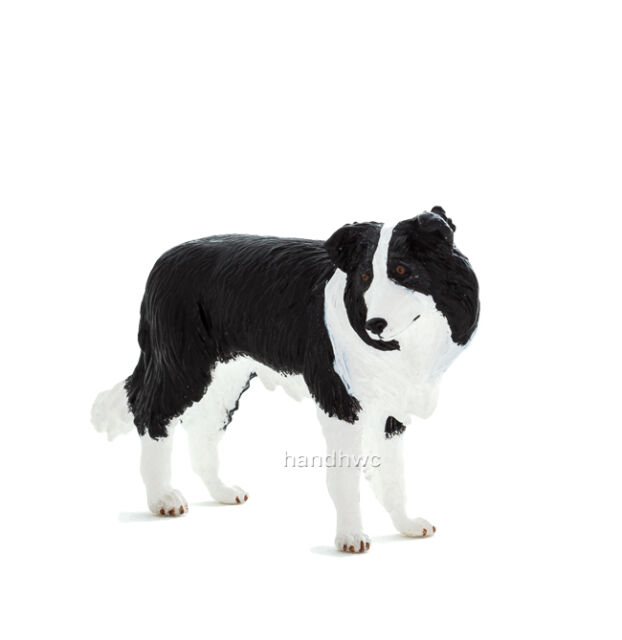 Mojo Fun 387203 Border Collie Herding Dog Toy Model Figurine - NIP