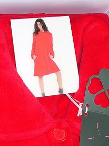 vestaglia-camicia-da-notte-OGHAM-Taglia-L-50-tutto-in-PILE-colore-ROSSO-art-1569