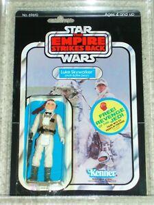 Vintage Star Wars 1982 Kenner Afa 80 Luke Skywalker Hoth Gear Esb 48 Retour Moc
