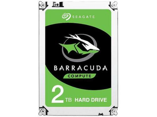 "Seagate BarraCuda 2TB Internal Hard Drive 3.5/"" 7200RPM 64MB Cache 6GB//s New"