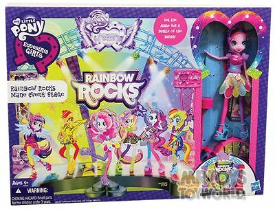 My Little Pony Rainbow Rocks - Mane Event Playset