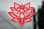Mandala Flower Floral Transfer Wall// Laptop Art Sticker Decal Home Decor Large