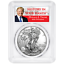 2019-1-American-Silver-Eagle-PCGS-MS69-Trump-Label thumbnail 1