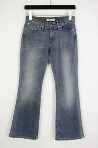 LEVI STRAUSS & CO. 10529 BOOTCUT Women's W28/L30 Stretchy Blue Jeans 35719-GS