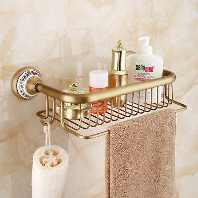 Shower Caddy Square Basket Br