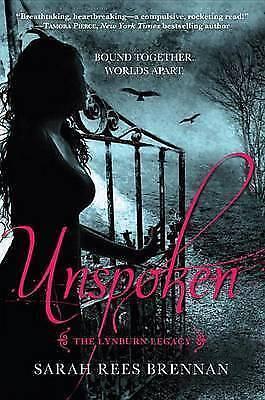1 of 1 - The Lynburn Legacy: Unspoken (The Lynburn Legacy Book 1) by Sarah Rees Brennan