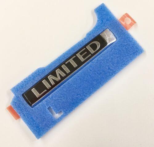 New OEM Infiniti QX80 Limited Rear Hatch Emblem Badge