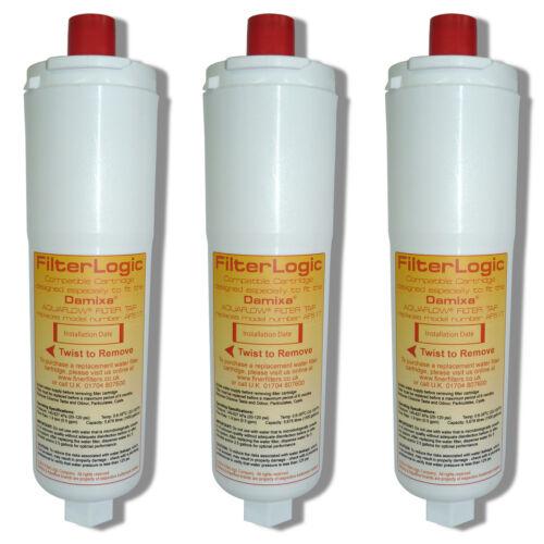 cartouche de filtre à eau tm 3 x compatible Damixa aquaflow AF517