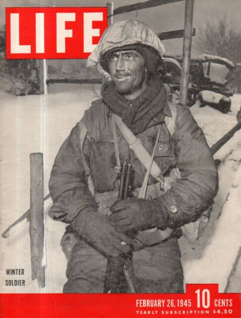 1945 Life February 26 - Bataan is freed; Scottie is the best dog; Grand Hotel;