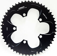 SRAM Red//Force  Non-Hidden Bolt 52T 110mm Black Chainring Use with 36 or