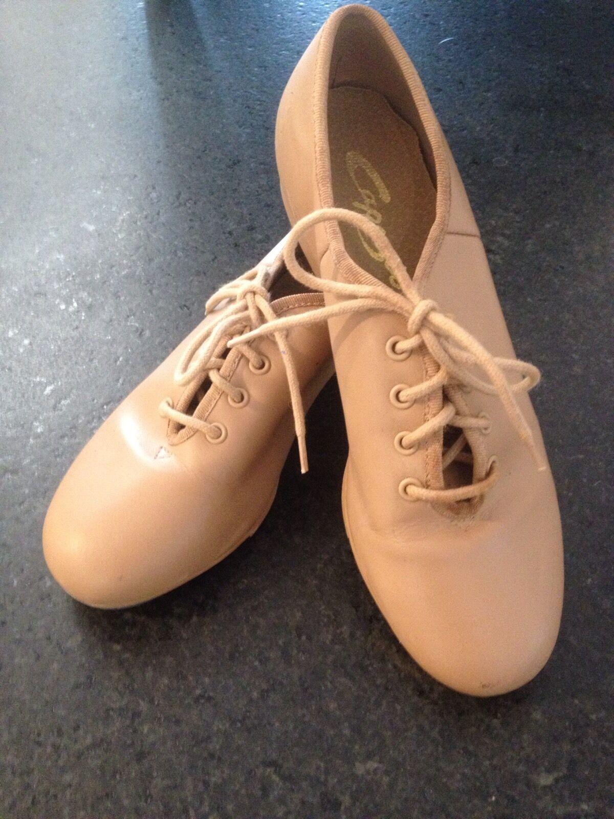 Capezio CG55 adult Teletone xtreme tap shoes in CARAMEL
