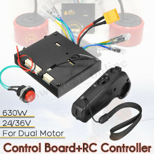 630W-24-36V-Brushless-Motor-Dual-Drive-Remote-Controller-for-Electric-Skateboard