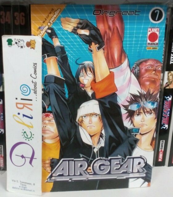 AIR GEAR N.7 Ed.PLANET MANGA SCONTO 10%