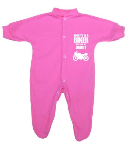 BabyPrem Baby Clothes BIKER Sleepers Footies One-Pieces Fun Novelty Shower Gifts