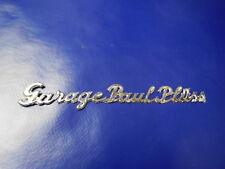 Händler Emblem Händlerplakette Autohändler Garage Paul Plüss Schweiz