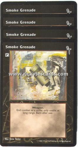 Smoke Grenade x4 FN VTES Jyhad