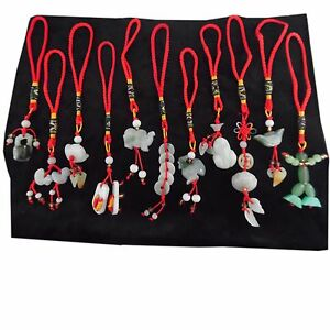 Chinese jade feng shui charms for luck health wealth - Feng shui quali oggetti portano ricchezza ...