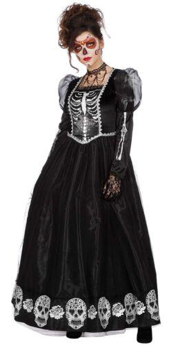 Dia De Los Muertos Robe De Bal Femme Costume nouveau-femmes Carnaval verkleidu