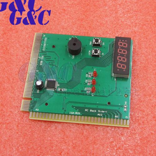 2//4 Bit 3 in1 PCI PCI-E PC Analyzer Diagnostic Card USB Card POST Card