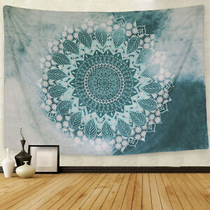 Hippie Mandala Print Tapestry New Wall Hanging Tapestry Home Room Bedspread Deco