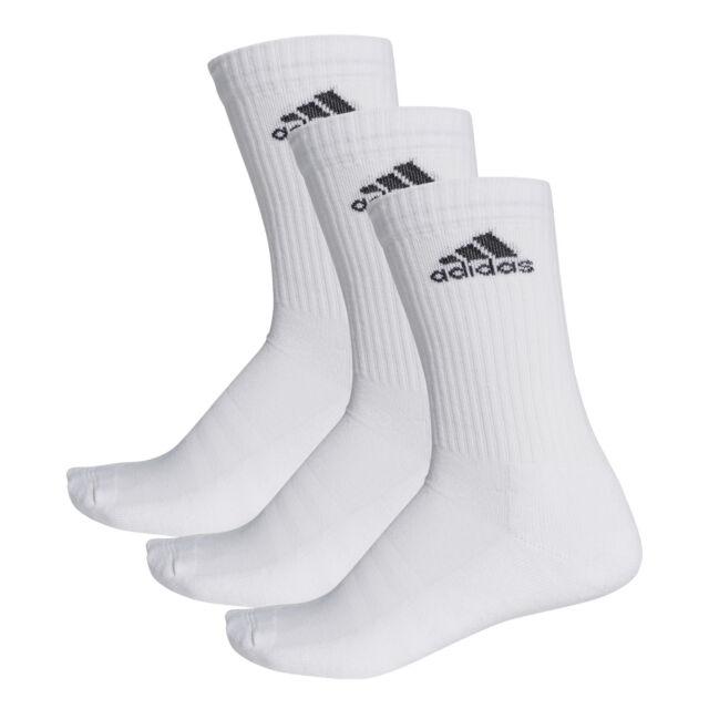 6 PACK Adidas Ankle Socks White Mens & Womens