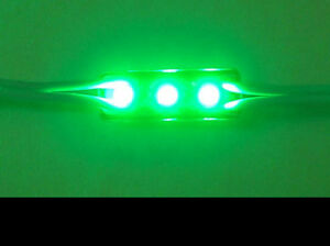 Forma-Ladrillo-LED-3-SMD-Verde-Para-Personalizar-Letrero-para-LED