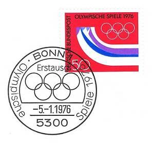 Logique Rfa 1976: Jeux Olympiques Nº 875! Bonner Ersttags-cachet Spécial 1a! 153-rstempel 1a! 153fr-fr Afficher Le Titre D'origine Prix ModéRé