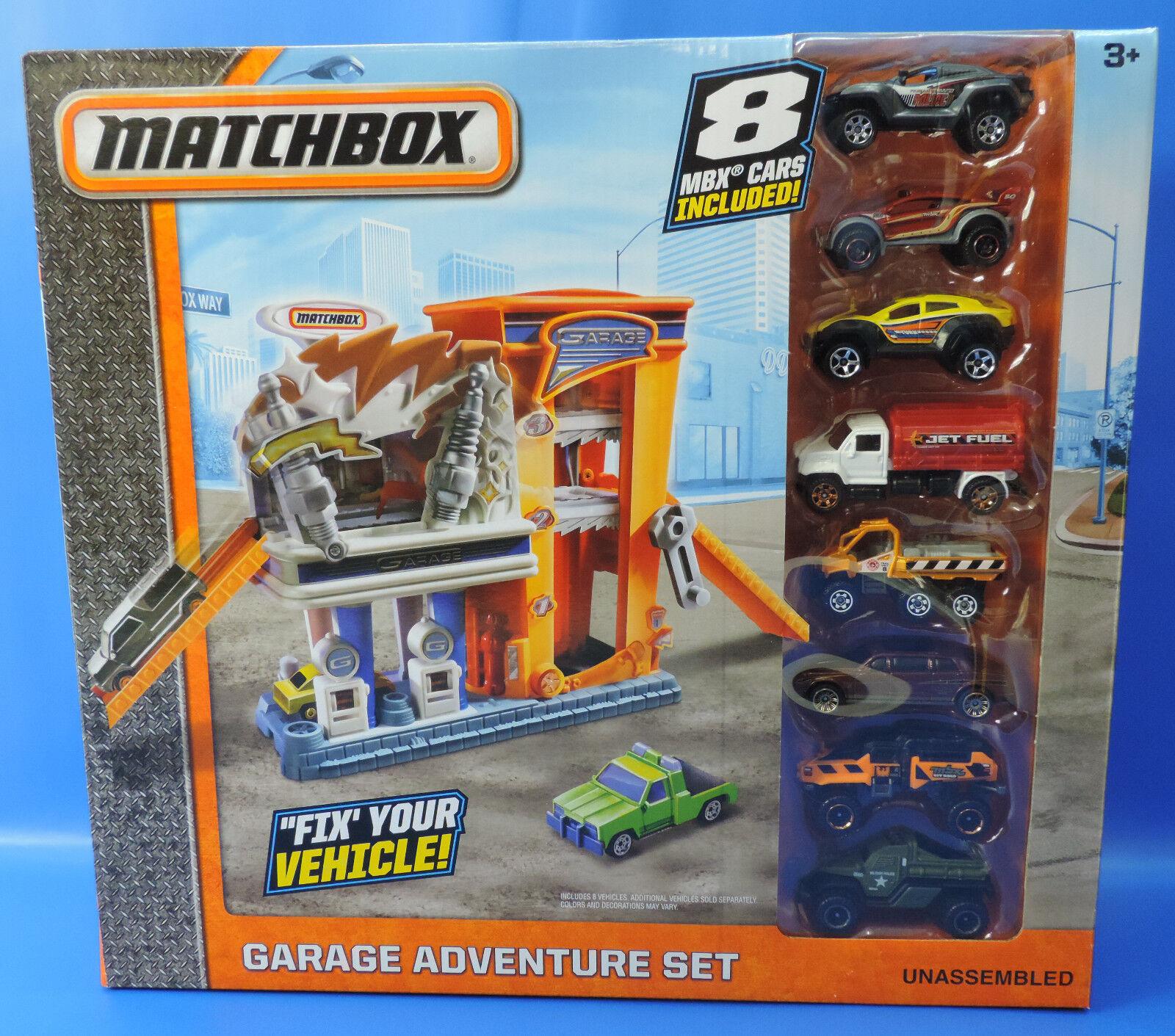 Matchbox - Aventure   DYY25   Garage Adventure Set