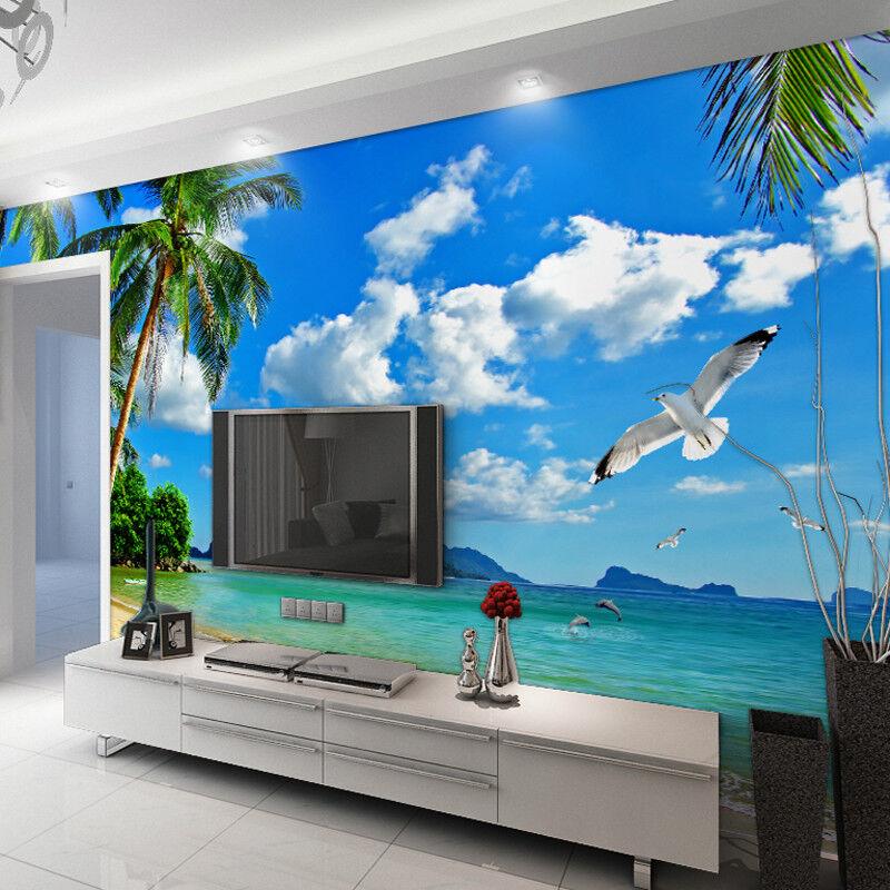 3D Wolken Strand Vögel 84 Tapete Wandgemälde Tapete Tapete Tapete Tapeten Bild Familie DE  | Ausgezeichneter Wert  | Leicht zu reinigende Oberfläche  | Sale Düsseldorf  08bc4a