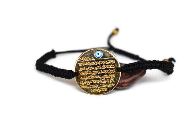 Islamic Charm Pendant For Eid Ramadan Muslim Jewelry Zamzam Water Tube Necklace Koran Pendant Charm Ayat al Kursi The Quran Pendant