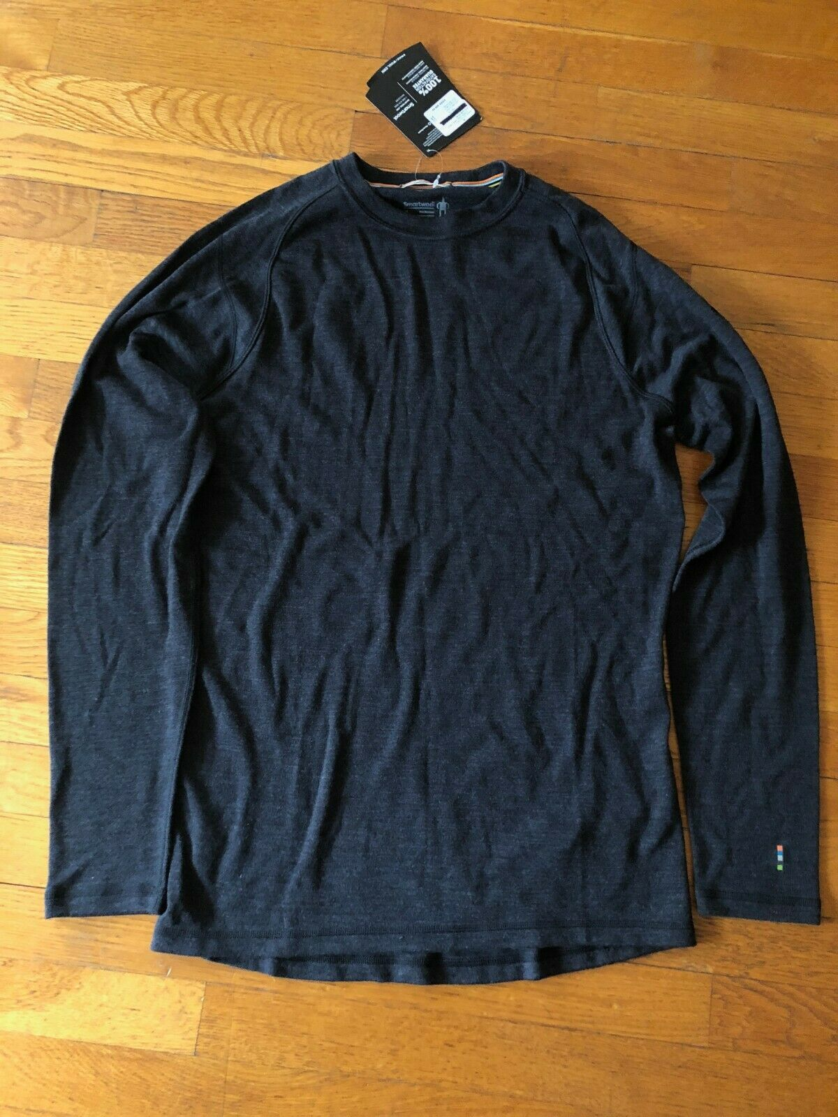 NWT Men's Smartwool Merino 250 LS Crew Base Layer - Size M