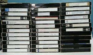 Lot-Of-33-SCOTCH-6-HOURS-T-120Pre-Recorded-VHS-Tapes-Sold-As-Used-Blank-K2