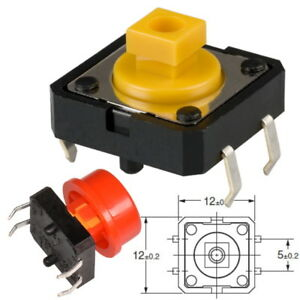 Druckschalter-OMRON-B3F-Mikrotaster-Drucktaster-Tactile-Switch-Schalter-Reset