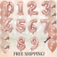 40-034-LIGHT-ROSE-GOLD-Number-Foil-Helium-Balloon-for-Birthday-Party-Decoration-ILO thumbnail 5