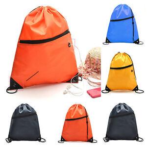 477637f42d Swimming Drawstring Beach Bag Gym Sport Swim Dance Travel Waterproof ...