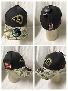 New Era 39Thirty Cap Salute to Service Los Angeles Rams