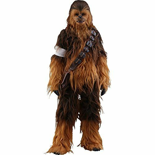 Nuevo Movie Masterpiece Masterpiece Masterpiece Star Wars The Force despierta Chewbacca 1 6 Figura Hot Toys  te hará satisfecho