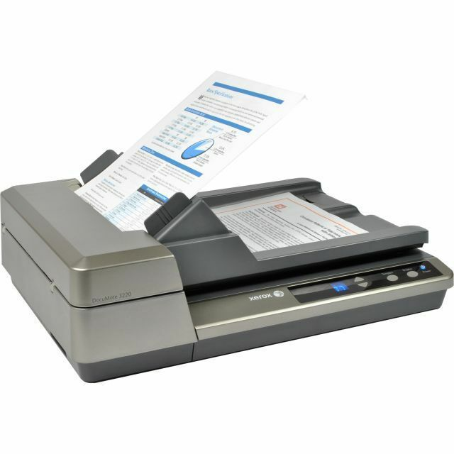 Xerox DocuMate 3220 Duplex ADF Flatbed Document Scanner #XDM