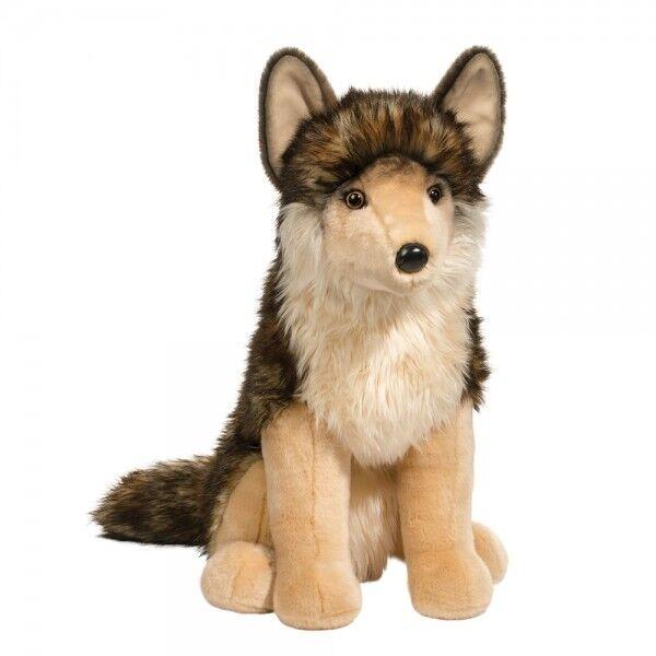 """Cuddle Toys Wolf """"Leeloo"""" sitzend: Plüschtier, Stofftier Größe: 53cm"""