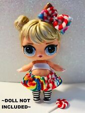 3 PC Custom LOL Surprise Dolls Accessories Watermelon Clothes Food Ice Cream