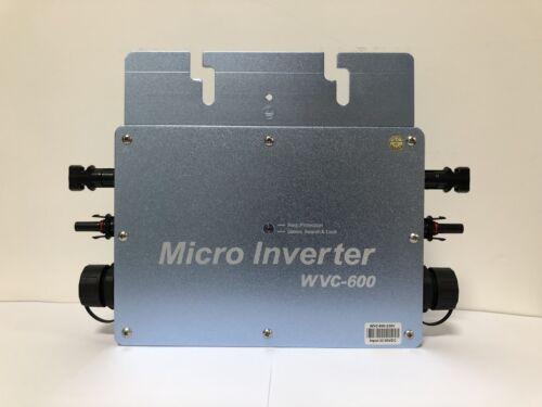 WVC-600W sans fil solaire onduleur filtre de lignefréquence micro Inver solaire
