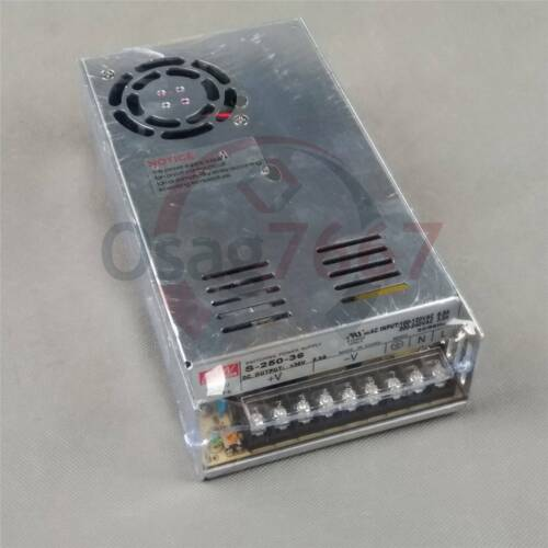 Meanwell S-250-36 MW switching power supply 36V 7A 250W