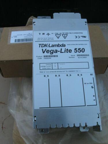 Nos TDK lambda Vega-Lite 550 fuente de alimentación V502DXK