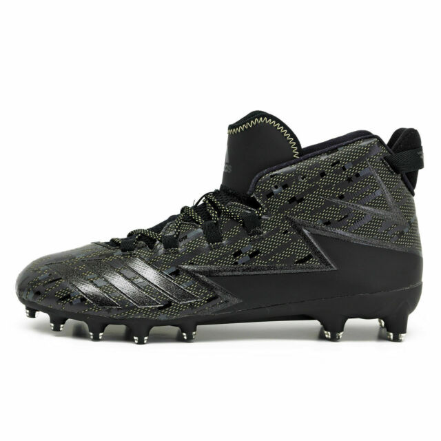 07d1fd2fd18 Adidas Freak X Kevlar Mid Limited Black Gold Football Cleats 8.5 Mens BW0857