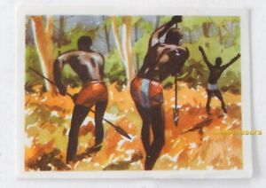 Image CHROMO Chocolat MARTOUGIN N°E5 AFRIQUE pour Album Chasseurs de Fauves