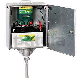Complexé Patura P 2500 électrificateur 12 + 230 Volts Avec électrique Isolateur Tragebox-tragebox Fr-fr Afficher Le Titre D'origine